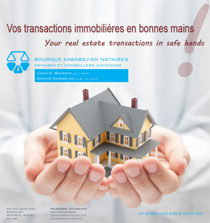 Real estate transactions in safe hands